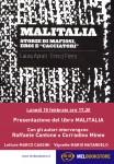 Malitalia locandina Melbooks Roma