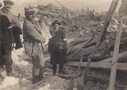 Avezzano, terremoto del 1915