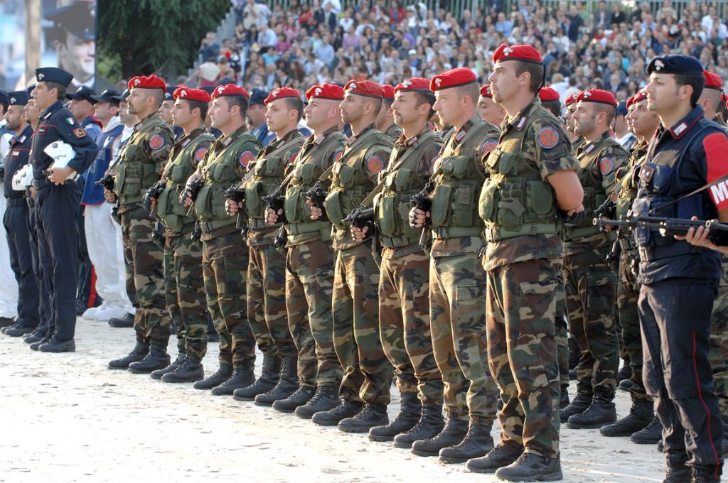 Carabinieri Cacciatori Calabria e Sardegna