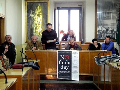 Comune Monte Sant'Angelo. No Faida Day
