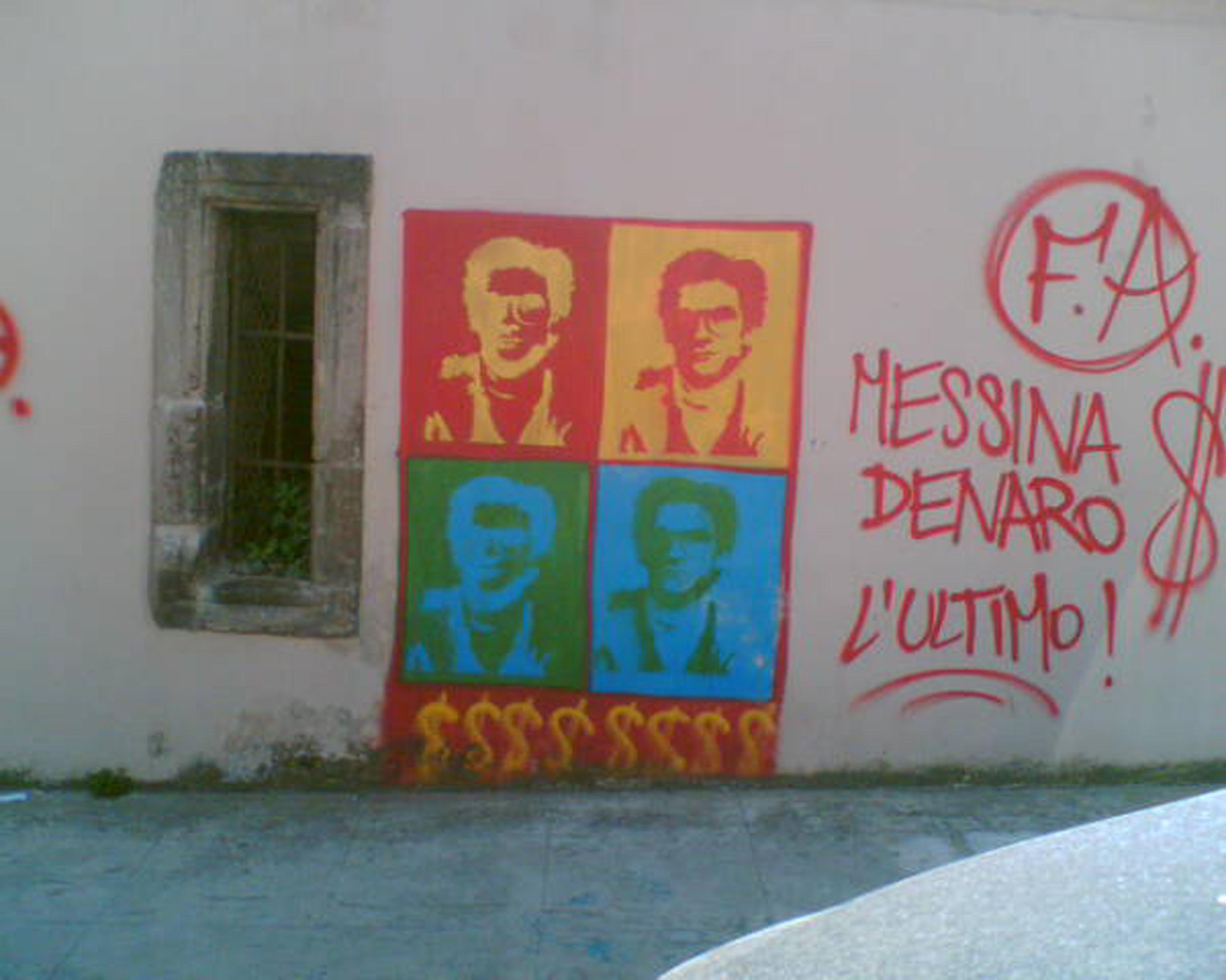 Matteo Messina Denaro Graffito