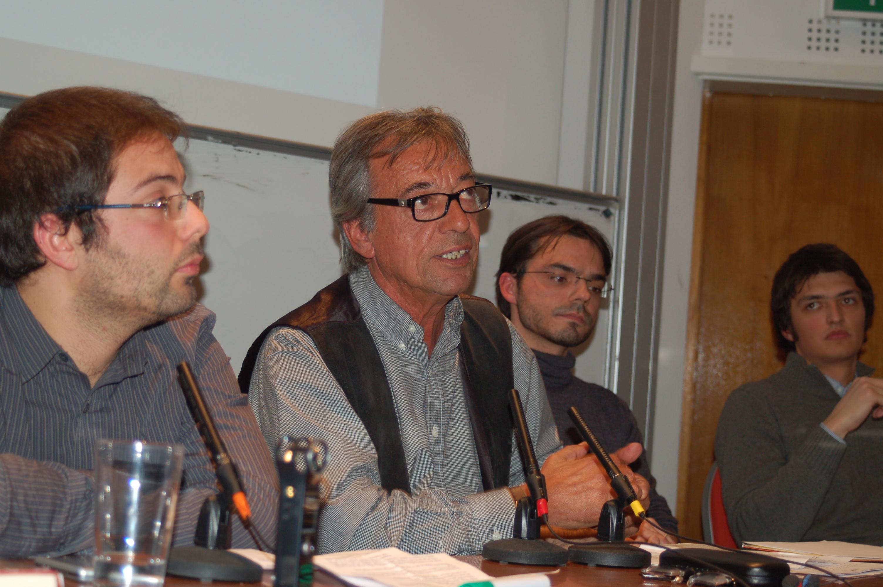 Al centro il Prof. Ruggiero