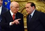 Napolitano e il cambio dei giocatori in campo
