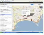 Parcheggiatori abusivi di Napoli su Google maps