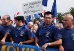 """Pastori  sardi nel """"continente"""" per protesta"""