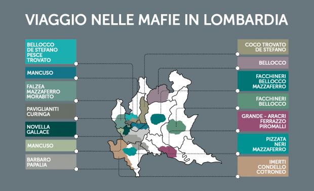 Viaggio nelle mafie in Lombardia cover