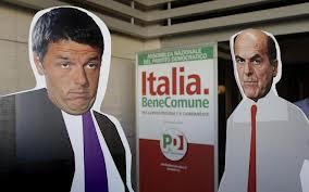 Bersani-Renzi e il rilancio della politica