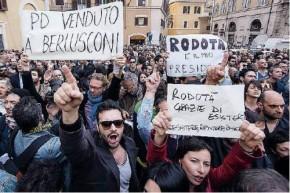 Montecitorio assediato