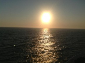 Alba a Lampedusa