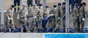 Lampedusa, tra i cadaveri negli abissi
