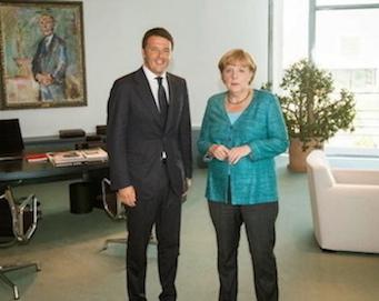 Renzi e Merkel 2