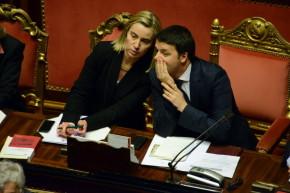 Mogherini, Mister Pesc  e i guai per Renzi