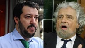 Tra Grillo e Salvini c'è chi scende e chi sale