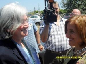 Maria Carmela Lanzetta con Rosy Bindi (2)