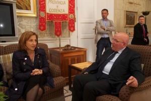 oliverio incontra ministro lanzetta1