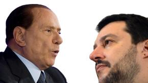 Berlusconi, Salvini  e l'alleanza che non c'e'