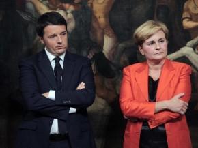 Le dimissioni di Federica Guidi  e le botte da orbi sul governo Renzi
