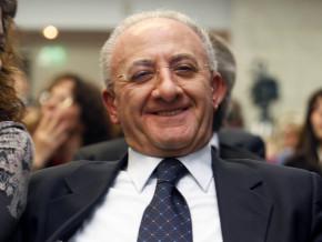 """Il governatore De Luca  e la """"cattiveria"""" in politica"""