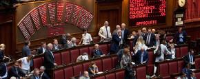 I cambi di casacca  per un posto  in Parlamento