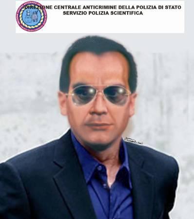 Un identikit del latitante Matteo Messina Denaro diffuso dalla polizia di stato. REUTERS /HandOut/Polizia di Stato