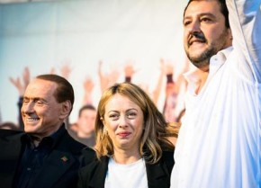 Berlusconi, Salvini e Meloni,  l'unità che non appare