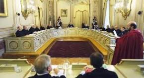 I giudici costituzionali e l'uscita dal palazzo